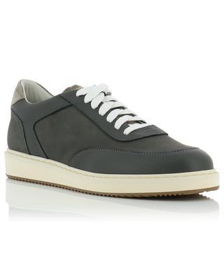 Sneakers aus Leder und Wildleder BRUNELLO CUCINELLI