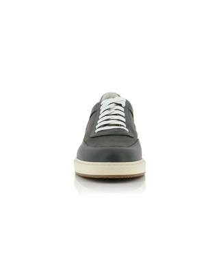 Leather and suede sneakers BRUNELLO CUCINELLI