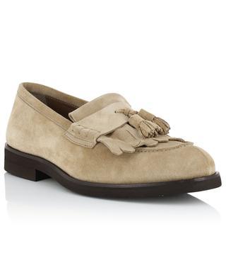 Suede loafers BRUNELLO CUCINELLI