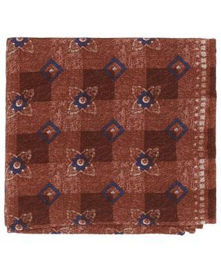 Silk pocket square BRUNELLO CUCINELLI
