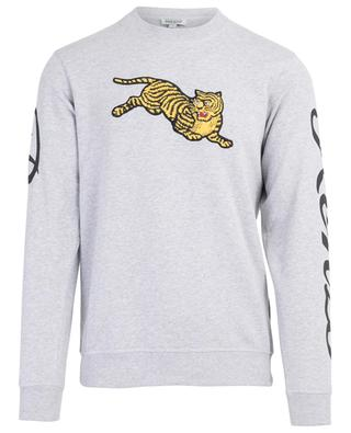 Sweat-shirt en coton Jumping Tiger KENZO