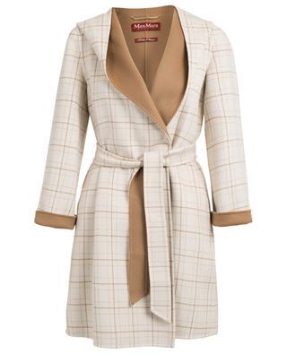 Vadet wool and cashmere coat MAXMARA STUDIO