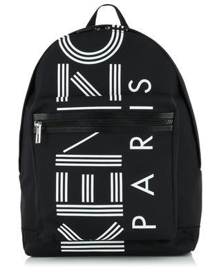 Grand sac à dos en nylon Kenzo Logo KENZO