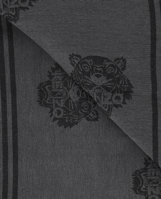 Cotton blend fine scarf KENZO