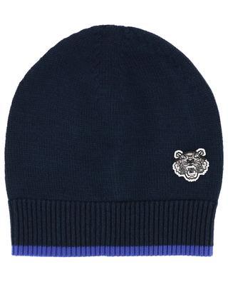 Bonnet en laine mélangée Tiger Crest KENZO