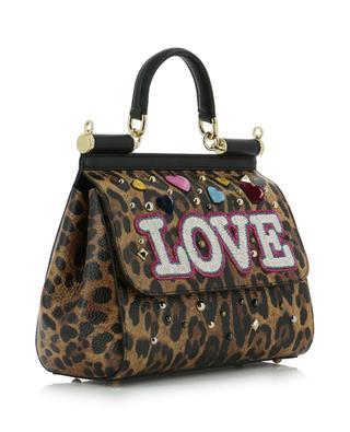 Handtasche aus Leder Sicily DOLCE & GABBANA