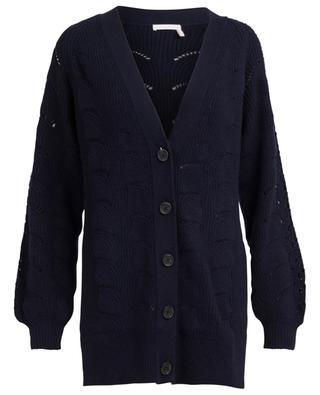 Viscose blend cardigan SEE BY CHLOE