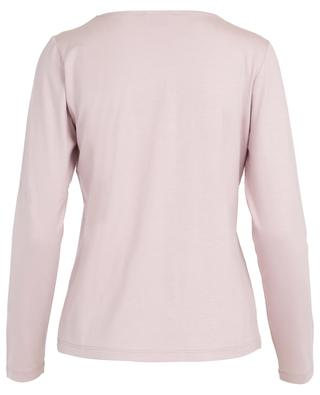 Embroidered long-sleeve T-shirt FRATELLI M