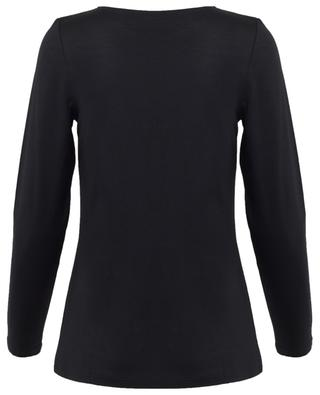 Long sleeved viscose blend top FRATELLI M