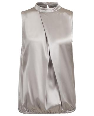 Sleeveless silk blend top CAMICETTASNOB