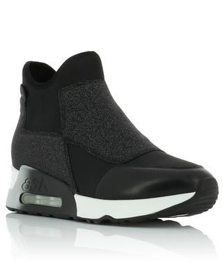 Hohe Slip-on Sneakers Lazer Glit ASH