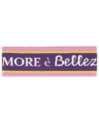 Bandeau en coton et soie mélangés DOLCE & GABBANA
