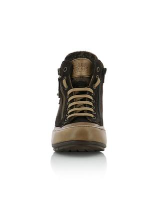 Hohe Sneakers aus Wildleder Lucia Zip CANDICE COOPER