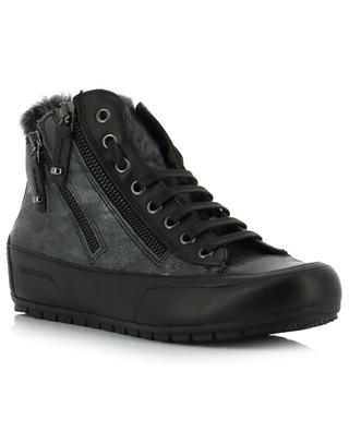 Hohe Sneakers aus Leder Lucia Zip CANDICE COOPER