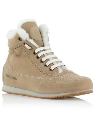 Sneakers aus Wildleder und Schafsfell Milena CANDICE COOPER
