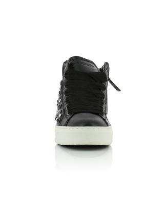Hoxton high-top leather sneakers CRIME