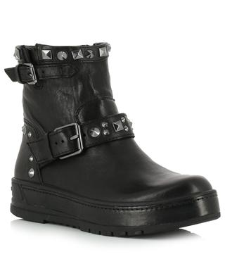 Delusion leather ankle boots CRIME