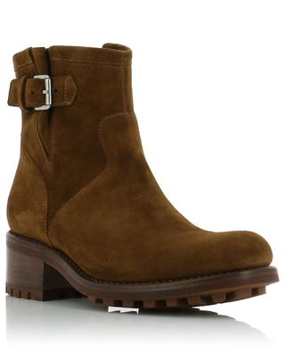 Biker 4 Small suede ankle boots FREE LANCE