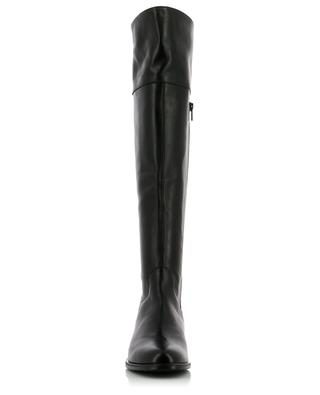 Flat smooth leather boots BON GENIE GRIEDER
