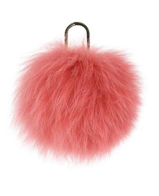 Fox fur key ring YVES SALOMON