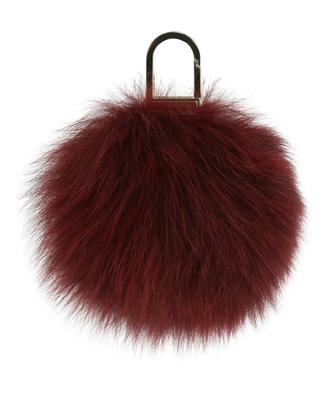 Fox fur key ring YVES SALOMON