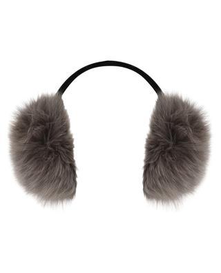 a4154f65aec5 Cache-oreilles en fourrure de renard YVES SALOMON