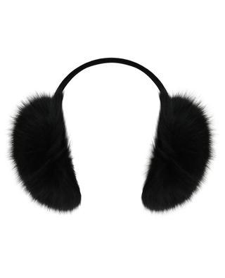 Fox fur earmuffs YVES SALOMON
