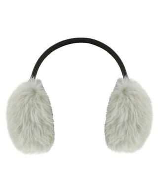 Rabbit fur earmuffs YVES SALOMON