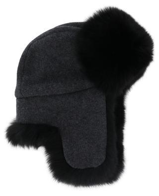 Wool and fur Cossack hat YVES SALOMON