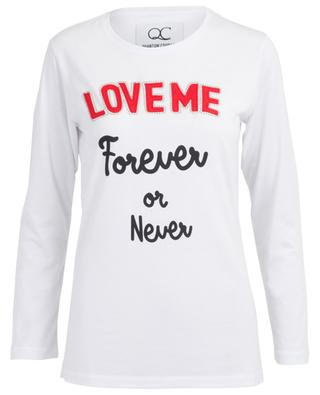 Love Me Forever or Never T-shirt QUANTUM COURAGE