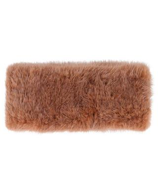 Mink fur headband YVES SALOMON
