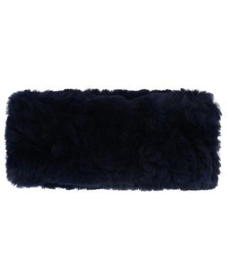 Stirnband aus Kaninchenpelz YVES SALOMON