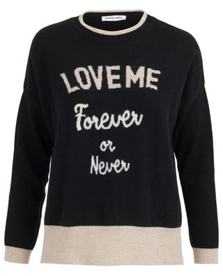 Pullover Love Me Forever Or Never QUANTUM COURAGE