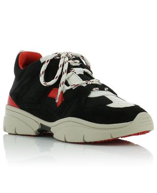 Kindsay leather and neoprene sneakers ISABEL MARANT