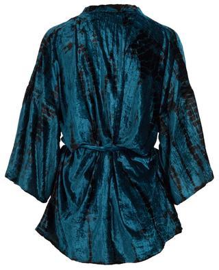 Veste kimono en velours Suzon MES DEMOISELLES