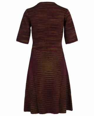 Robe tricot en laine vierge M MISSONI