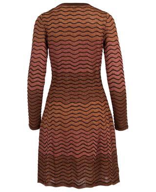 Robe tricot lamée M MISSONI
