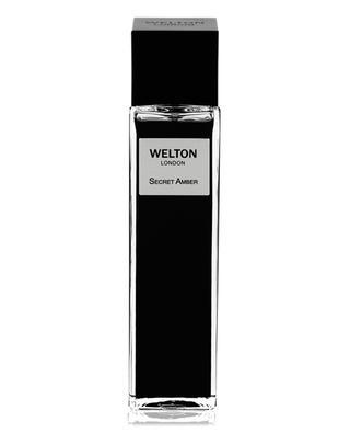 Secret Amber eau de parfum WELTON LONDON