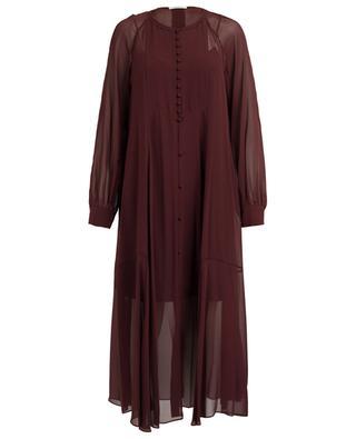 Robe longue en soie Sheer Movement DOROTHEE SCHUMACHER
