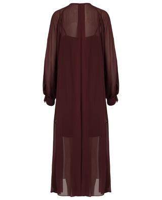 Robe longue en soie Sheer Movement DOROTHEE SCHUMACHER