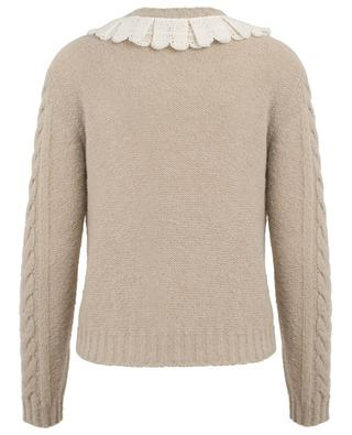 Wool blend cable knit jumper PHILOSOPHY