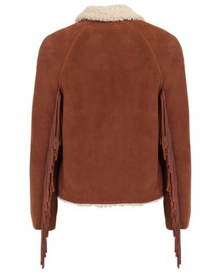 Suede and shearling jacket PHILOSOPHY