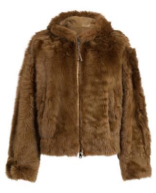 Reversible shearling jacket BRUNELLO CUCINELLI