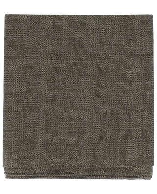 Lightweight lurex and cashmere scarf BRUNELLO CUCINELLI