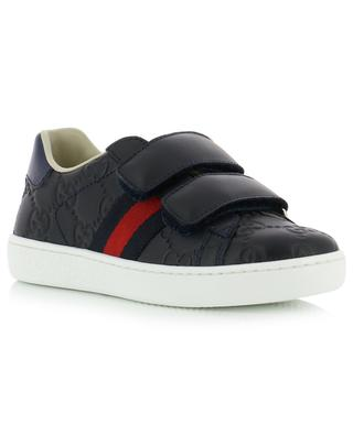 Baskets en cuir GUCCI