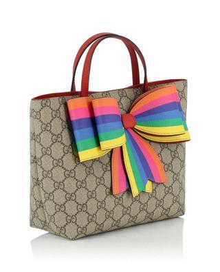GG Supreme Rainbow children's bag GUCCI