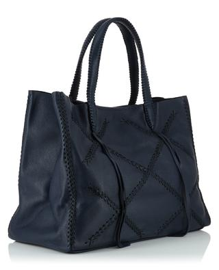 Cross Tote grained leather tote bag CALLISTA