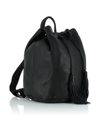 Rucksach aus Leder Sable Noir Backpack CALLISTA