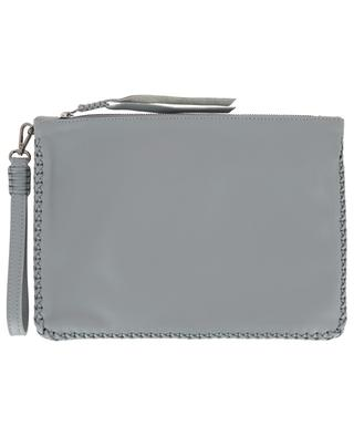 Maxi Pochette leather clutch CALLISTA