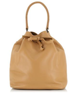 Tasche aus Leder Caramel Bucket M CALLISTA